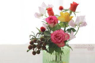 定期購入のお花(11月2回目)