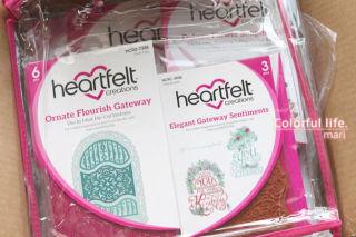 Heartfelt creations(Elegant Gateway Dies & Accents)
