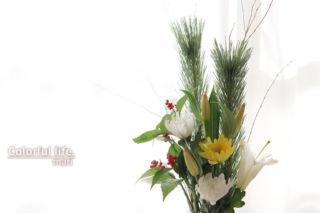お正月のお花(2021年)