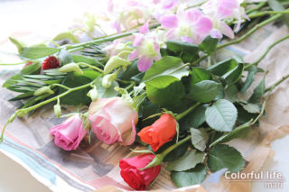 お花の定期購入1(2021年1月1回目)