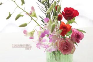 お花の定期購入2(2021年1月1回目)