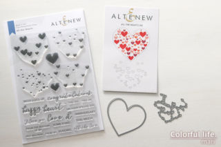 All the Hearts Stamp & Die Bundle(Altenew)