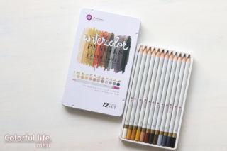 Prima Marketing Watercolor Pencils – EARTH TONES