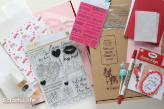 Stamp Card Kit FOR MY SWEET Valentine 2021/Simon says stamp