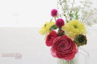 お花の定期購入/ピュアフラワー(3月1回目-2)
