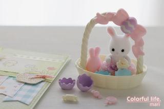 しろウサギちゃんのイースターセット/シルバニアファミリー