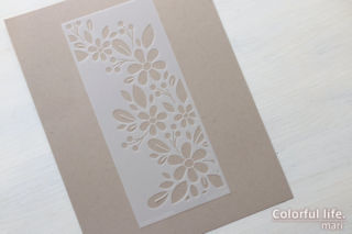 Stencil FADING FLORALS(ssst221542)/Simon Says Stamp