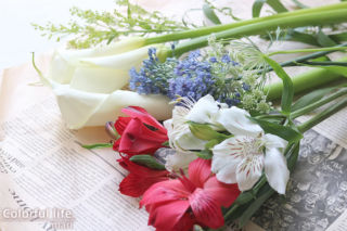 お花の定期購入/ピュアフラワー(2021年4月2回目)