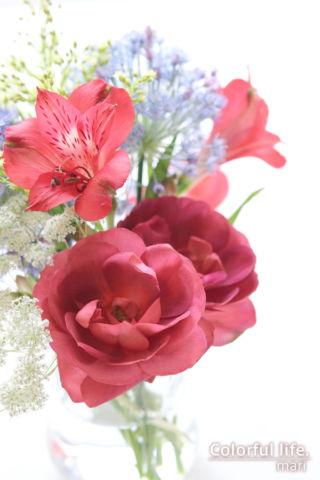 長めの花は切り花として