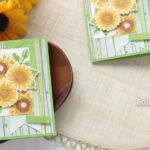 ひとあし早く夏の花♪ヒマワリいっぱい、元気な夏のカード