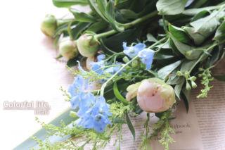 お花の定期購入/ピュアフラワー(5月2回目1)