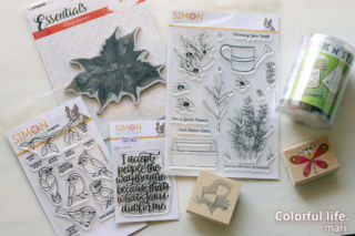 In Crafty Supplies スタンプ(Simon Says Stamp)