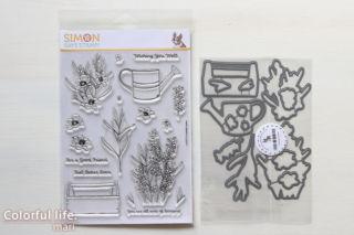 Simon Says Stamp LAVENDER GARDEN